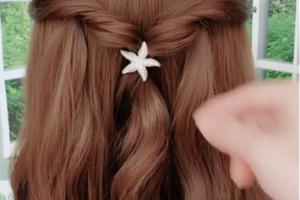 Hair Style , 2020 Hairstyle For Girls : Princess Sweet Long hairstyle in 2020 popular
