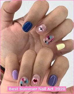 2020 Summer Nail Art Trends And Ideas in Nail