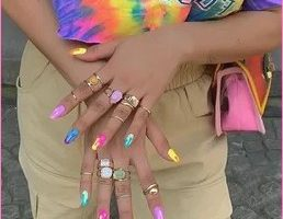 258x322px 2020 Summer Nail Art Trends And Ideas Picture in Nail